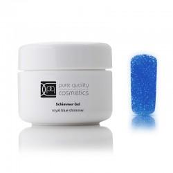 UV-Farbgel royal blue schimmer, 5ml