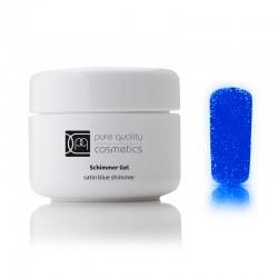 UV-Farbgel satin blue shimmer, 5ml