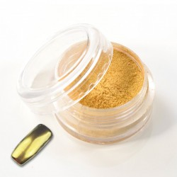 Chrom Puder gold