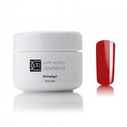 UV-Farbgel love red, 5ml